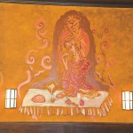 Malerei Aleko Adamia im Wenzel Halle