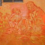 Malerei Aleko Adamia im Wenzel Zwickau