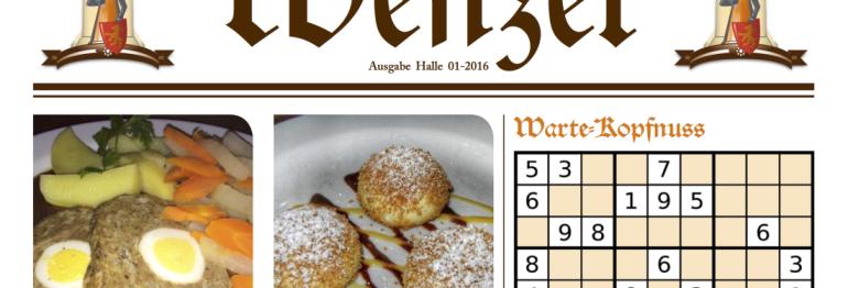 Der WENZEL – unsere Gästezeitung 1/2017